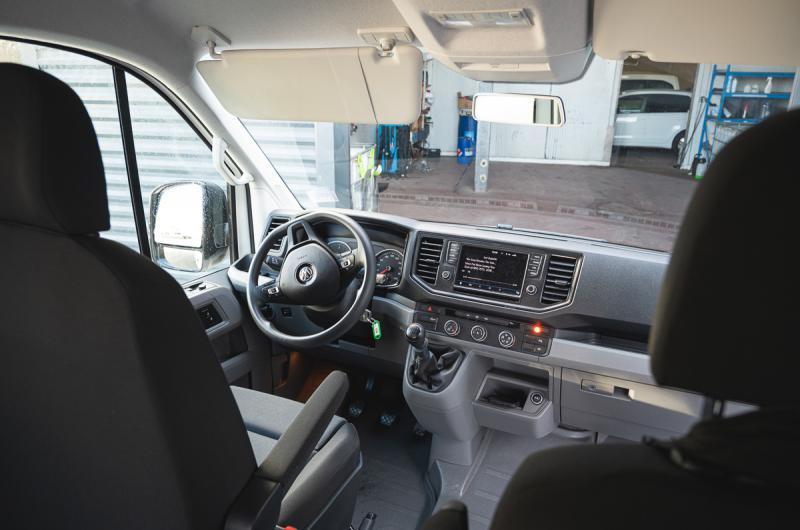 vehicule en location vente Crafter Combi Long