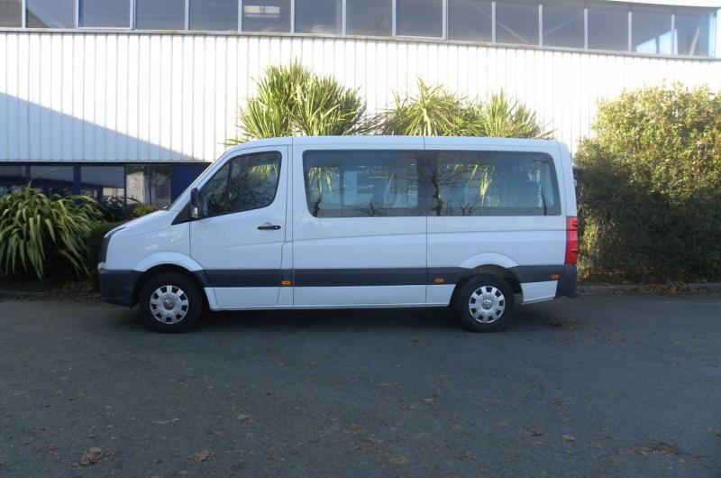 vehicule en location vente Crafter Combi Moyen Bas